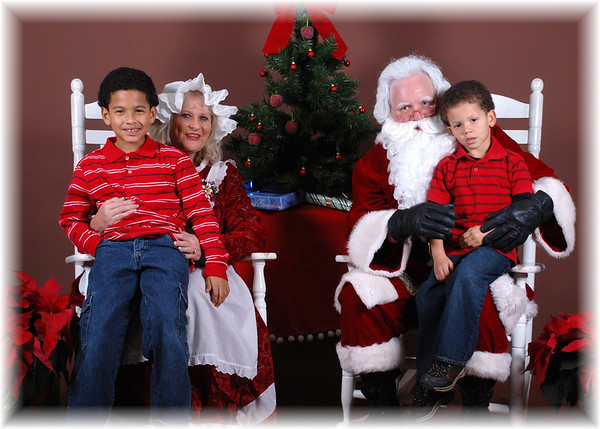 Pictures With Santa 2009